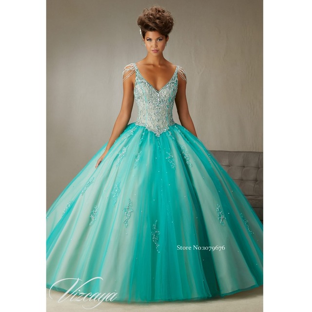 e9e484d17 2016 New Arrival Gorgeous Princess Party Ball Gowns Girls Prom ...