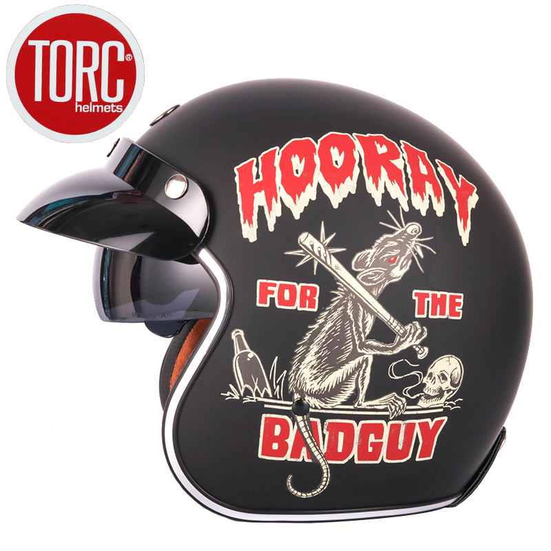 TORC T57 vintage motorcycle helmet retro man women's Jet Helmets Chopper casco capacetes motorcycle man