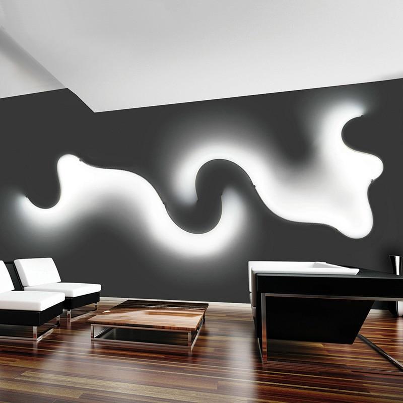 new postmodernen einfache kreative wandleuchte led schlafzimmer ... - Led Design Wohnzimmer