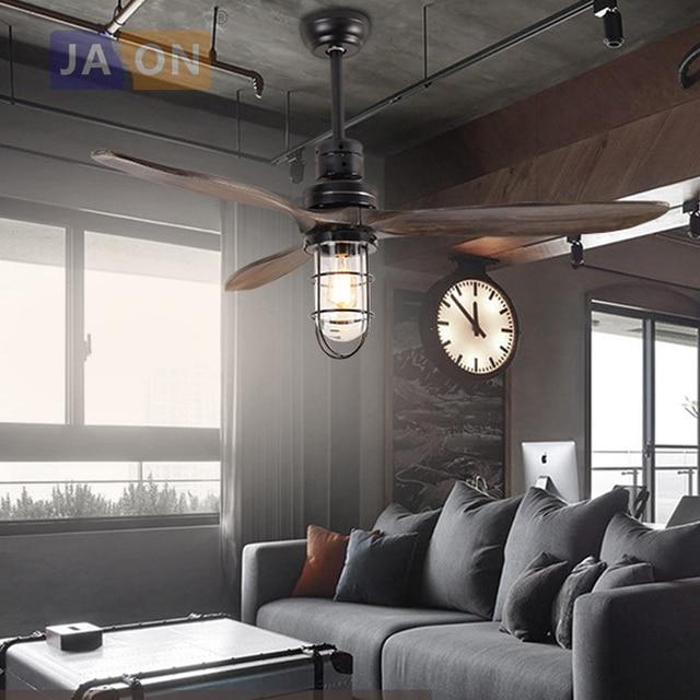 Led e27 loft iron wood glass ceiling fan led lampled light led e27 loft iron wood glass ceiling fan led lampled lightceiling lights mozeypictures Images