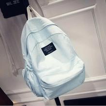 2016 женские джинсовые рюкзак школьный Женская девочка-подросток рюкзак большой рюкзак путешествия Bolsa школьный Femininas