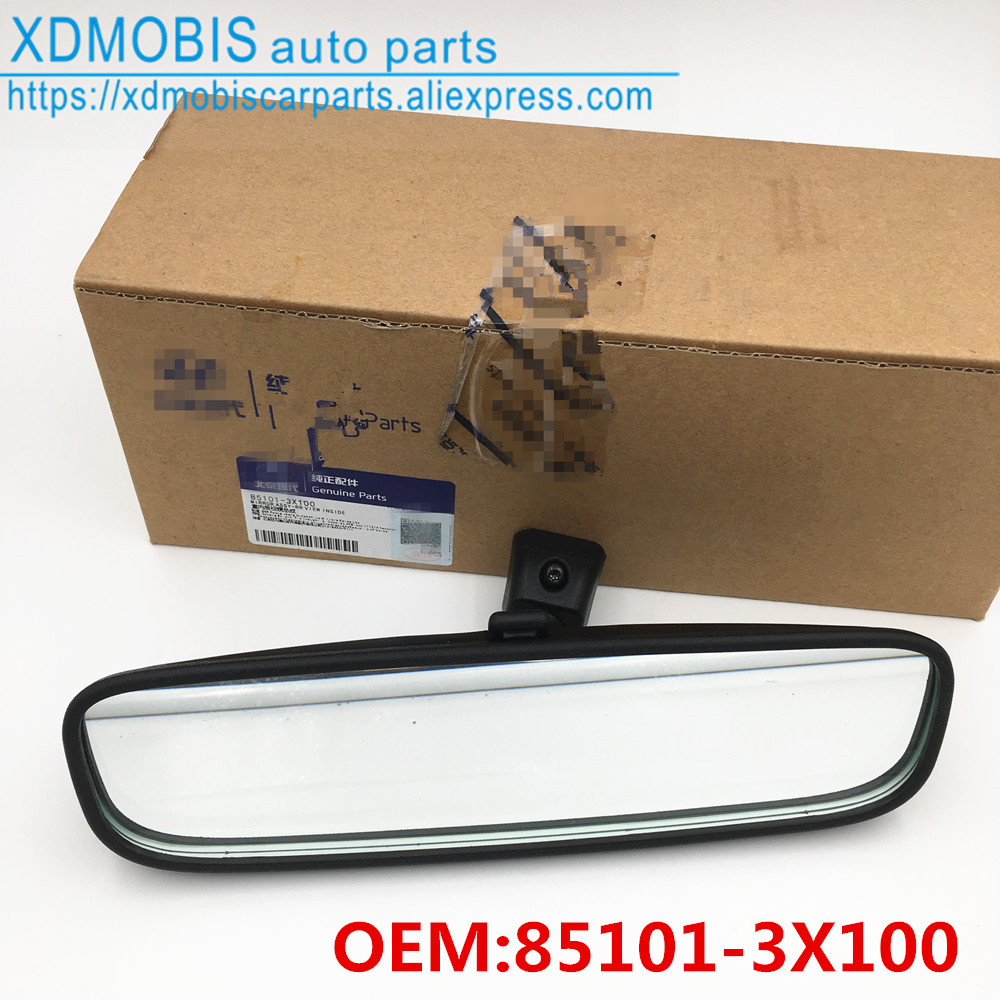 OEM Genuine Parts Black Side Mirror Cover 2Pcs for HYUNDAI 2011-2016 Accent