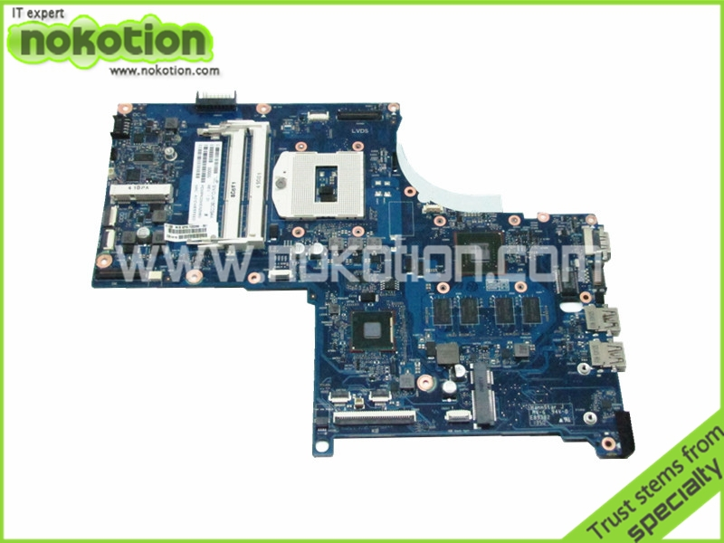 Laptop Motherboard for HP ENVY 17 Touchsmart 720266-501 17SBGV2D-6050A2549801-MB-A02 NVIDIA GT740M 2GB DDR3 Logic Board 720566 001 720566 501 latop motherboard for hp envy touchsmart 15 15 j mainboard 720566 601 gt740 2gb 6050a2548101 mb a02