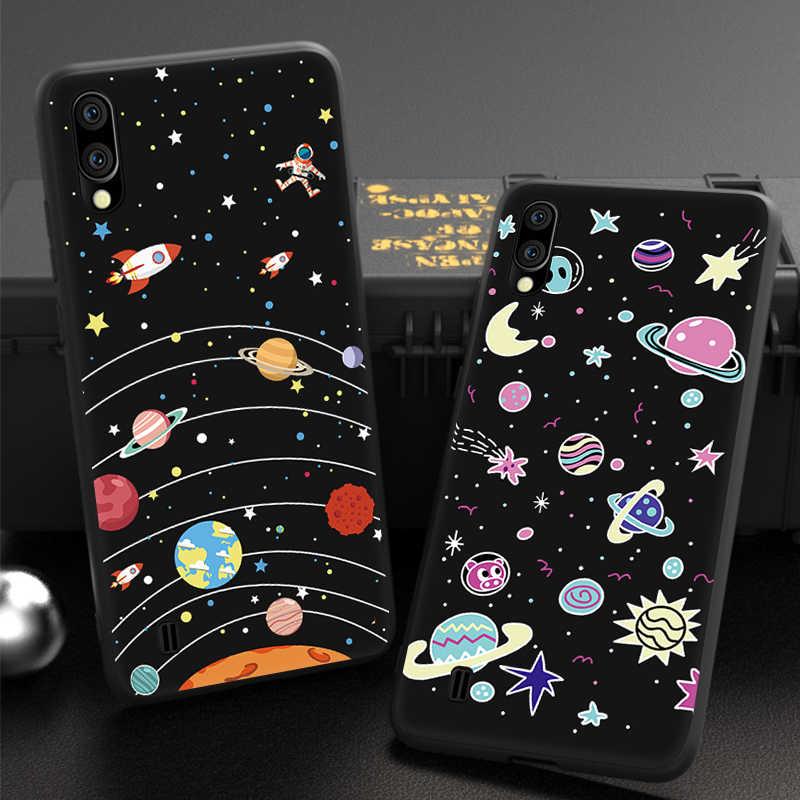 חדש אופנה דפוס מקרה לסמסונג גלקסי S10 בתוספת S10e M10 M20 M30 A10 A20 A30 A40 A50 A70 כוכב חלל TPU טלפון כיסוי