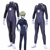 darling in the frankxx 02 Anime Cosplay Costume Male lead Hiro Jumpsuit zentai Suit Bodysuit
