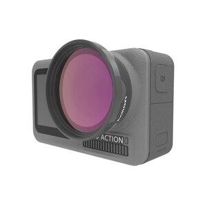 Image 5 - 2 in 1 15X Makro Breite Fisheye objektiv Kamera Kit für DJI Osmo Action Optische Glas Objektiv Vlog schießen Zusätzliche Objektive Zubehör