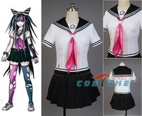 Anime Super Dangan Ronpa 2 Danganronpa Ibuki Mioda Cosplay Costumes Suit Skirt Halloween For Women Custom Made