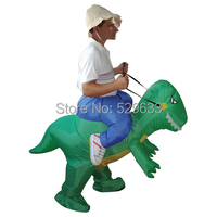 Interesting Inflatable Dinosaur Costume Halloween Party Fancy Costume Animal Costume For Adults Free Shipping
