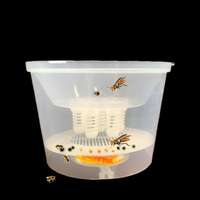 Hornet Trapper Fly Bug Catching Traps Wasp Catcher Hanging on Tree Insectary Box Bees and Beekeeping Equipment Apiculture Tool