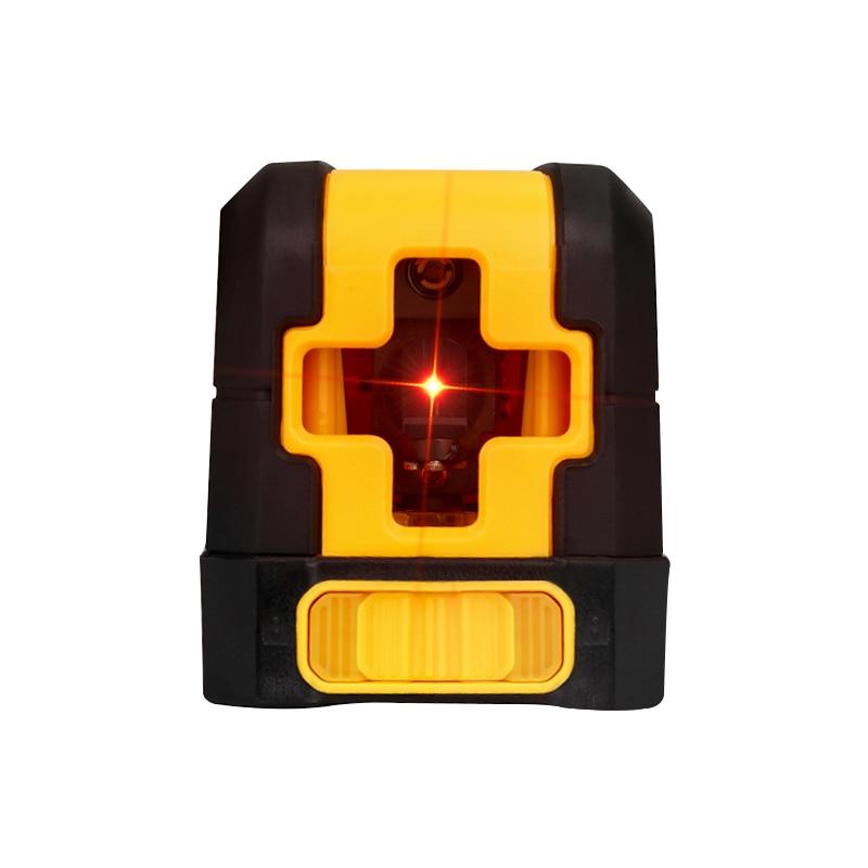DEKOPRO Mini Style Laser Level Self-Leveling Horizontal And Vertical Cross Super Powerful Red Laser Beam Line