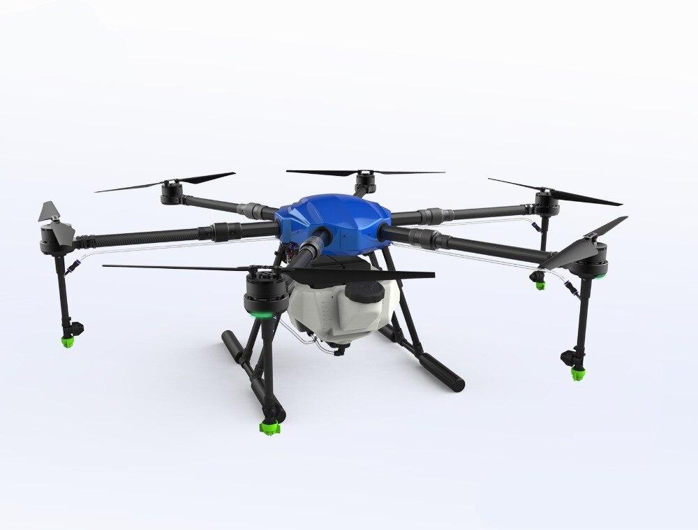EFT E610 10L rolniczych dron spryskujący wodoodporny lotu platformy 1400mm hexacopter zestaw ze szkieletem X6 systemów zasilania w Części i akcesoria od Zabawki i hobby na  Grupa 1