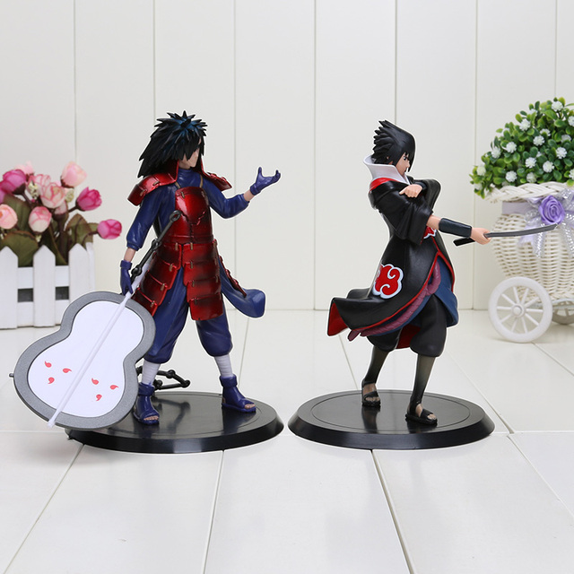 2pcs/set Naruto PVC Action Figures Model Toys