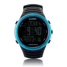 SUNROAD FR720 Men Digital watches outdoor watch Fishing Altimeter Barometer Thermometer Altitude Climbing Hiking clock Men