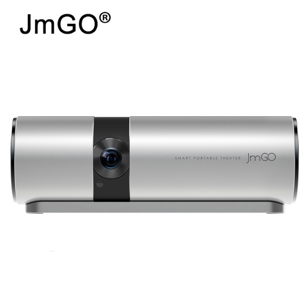 JmGO P2 View Portable Projector 3D Full HD 1080P Smart Cinema 180 Hi-Fi Bluetooth DLP Beamer Android OS WIFI 15600mAh battery pocket projector ultra thin 1080p hd home theater mini portable wifi smart dlp projector with tripod
