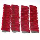 Для выведения токсинов, 40 шт двери автомобиля Панель интерьер красная сигнальная лампа для A7 A8 Q3 Q5 TT A3 S3 A6 S6 A4 S4 RS3 RS4 RS7 8KD 947 411 8KD947411