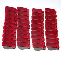 40Pcs Car Door Panel Interior Red Warning Light For A7 A8 Q3 Q5 TT A3 S3 A6 S6 A4 S4 RS3 RS4 RS7 8KD 947 411 8KD947411