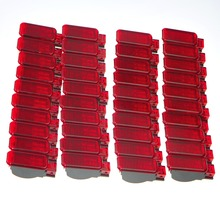 40 шт. двери автомобиля Панель подкладке красная сигнальная лампа для A7 A8 Q3 Q5 TT A3 S3 A6 S6 A4 s4 RS3 RS4 RS7 8KD 947 411 8KD947411