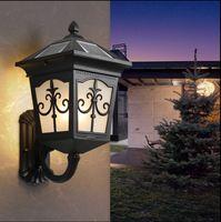 Настенный светильник на солнечной батарее Открытый водонепроницаемый двор открытый сад дома настенные светильники прохода коридор настен