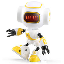 JJRC R8 RUKE / R9 Ruby Touch Control DIY Gesture Mini Smart Voiced Alloy Robot Toy RC Robots For Children Kids Gifts