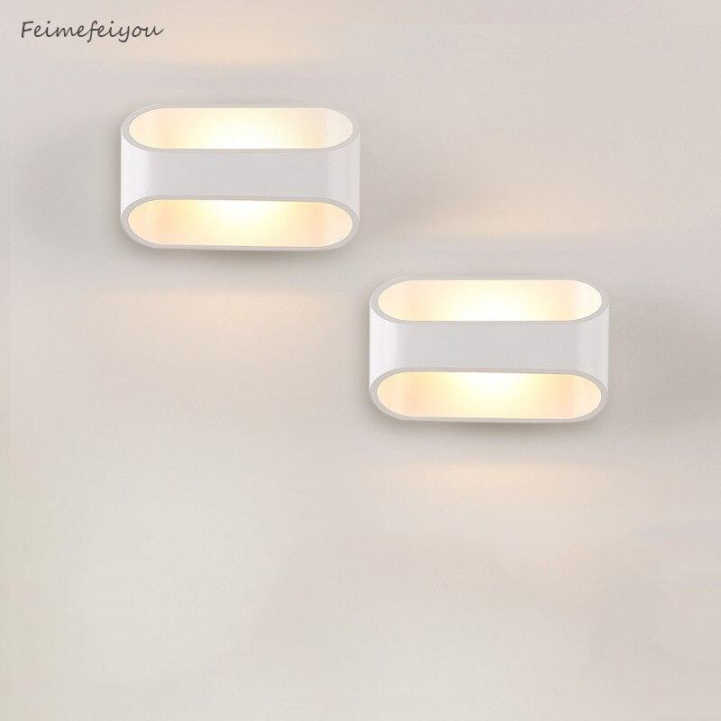 Perfekt Feimefeiyou Led Moderne Wand Lampe Aluminu Leuchte AC90 260V Wand Lampe Für  Schlafzimmer Applique Murale Leuchte Spiegel Wand Licht