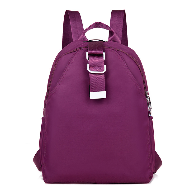 Brand Women Backpack Solid Design Lady s Big Oxford Backpacks For Teenage Girls High Quality Travel