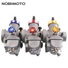 NOBIMOTO 30mm Carburetor Keihin PE30 Hand Choke Carburateur for Adapted 250cc Engine ATV Dirt Bike Motorcycle Accessorie HK-158N