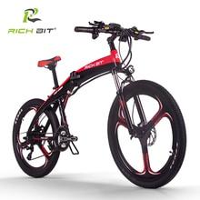 RichBit New RT-880 36V*250W Folding ebike Mountain Electric Bike Hybrid Electric Bicycle Frame Inside Li-on 9.6Ah Battery ebike все цены