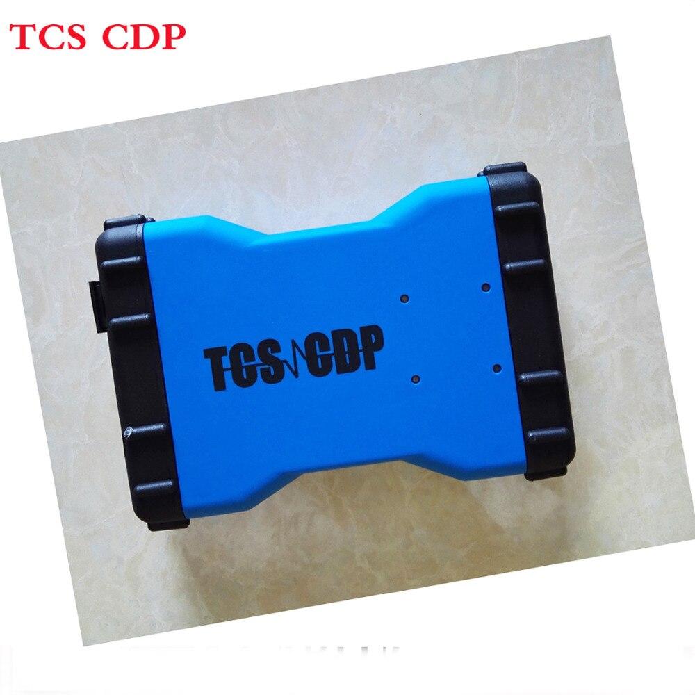 Цена за 2017 Горячие Продажа TCS CDP Pro Новый Дизайн CDP Pro 2015. R1 TCS CDP с Bluetooth TCS CDP OBD2 диагностический инструмент для легковых и грузовых автомобилей