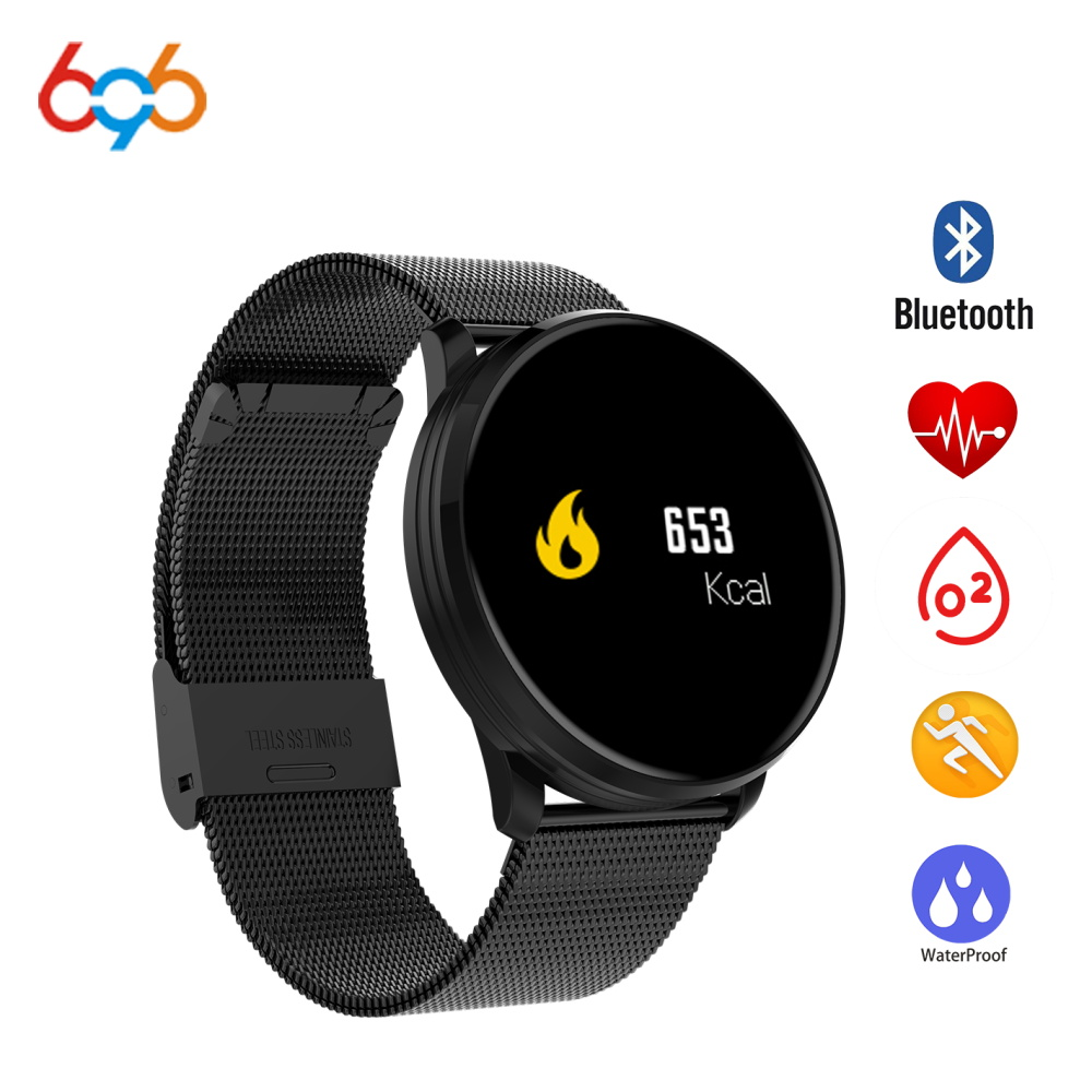696 M9 Smart band Bracelet Watch Pedometer Heart Rate Blood Pressure Oxygen Monitor Bluetooth Sport Smart Watch for xiaomi mi3 P smart watch women bluetooth sport waterproof round smart band watch pedometer heart rate monitor