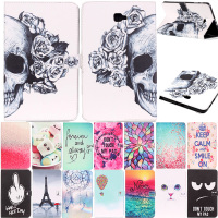 For Samsung Galaxy Tab A 10 1 T585 T580 SM T580 T580N Tablet Funda Case Print