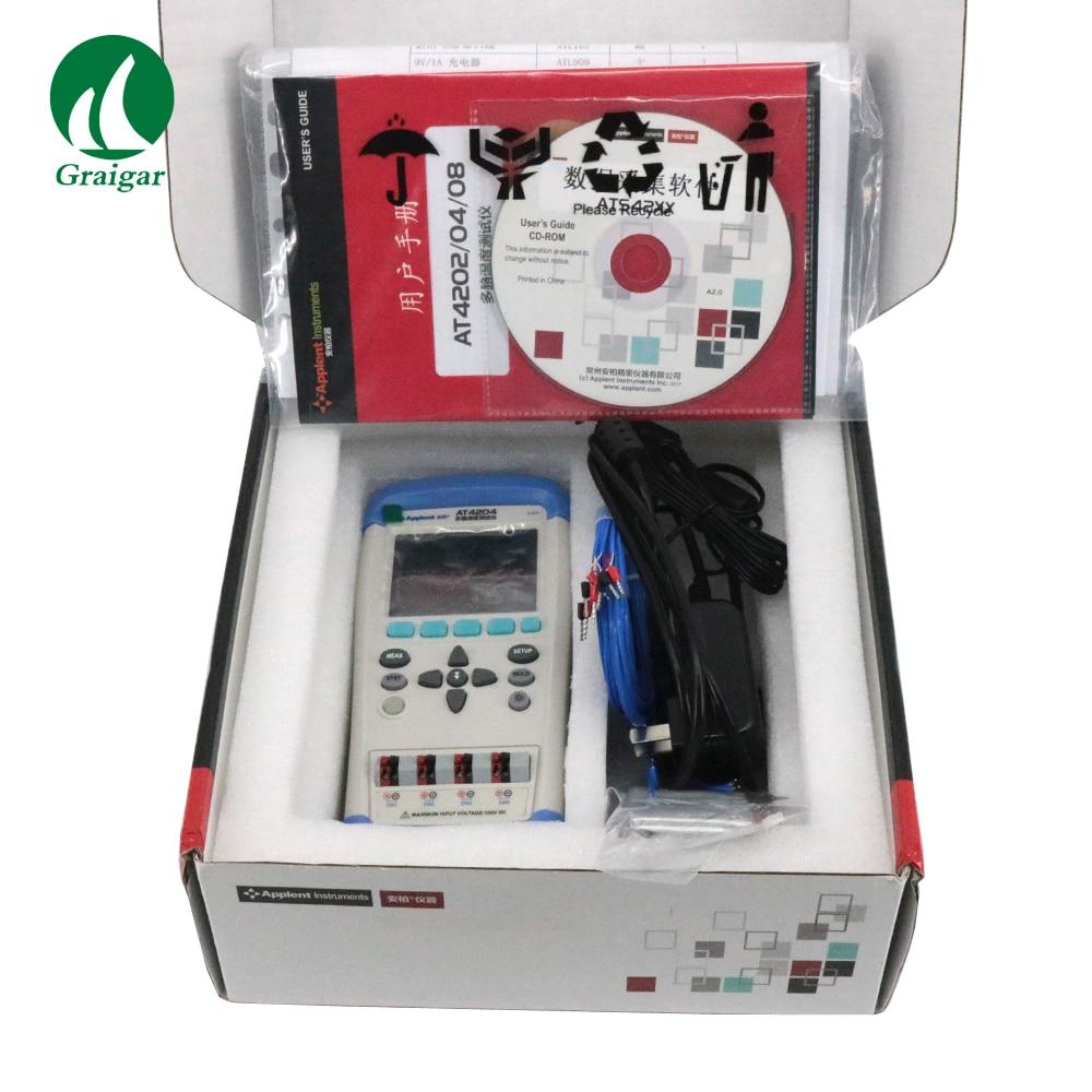 AT4204 il est alimenté par batterie Li. Communication USB