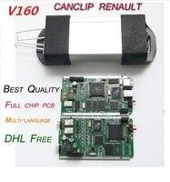 V160 For Renault Can Clip Full Chip OBD2 Diagnostic Tool For Renault Can Clip Scanner Multi