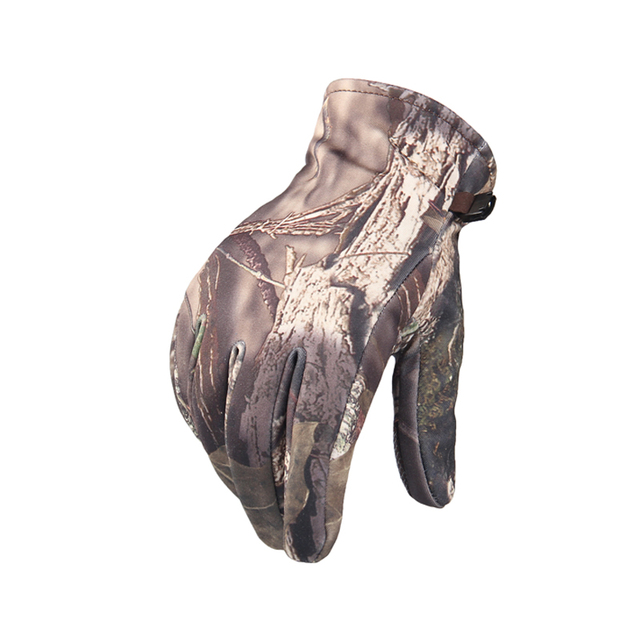 Outdoor Remington Soft Shell Camera Bionic Camouflage Touch Gloves