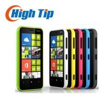 "Lumia 620 débloqué original nokia 620 windows mobile téléphone 3.8 ""dual-core rom 8 gb caméra 5mp wifi gps rénové freeshipping"