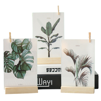 Modern Desktop Photo Frame Ornaments Creative Wooden Photo Frames Plant Specimen Display Home Decoration Crafts Birthday Gifts