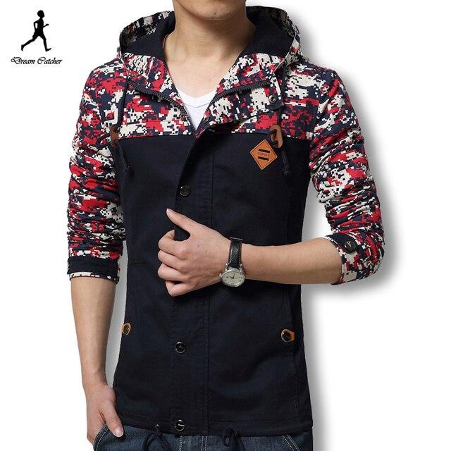 2016 мужчины куртку камуфляж мода верхней одежды людей пальто спортивной улице толстовки мужчин камуфляж куртка мужчин ветровки