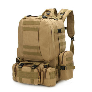 Image 2 - High Quality 50L  Large capacity Multifunction Military Backpack Camouflage Molle Army Backpacks Rucksack Men Travel Backpack