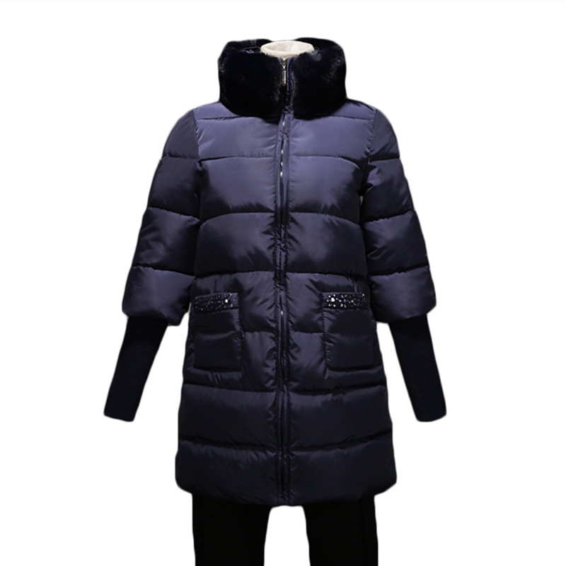 2017 new arrival parkas winter jacket women thicker padded jackets and coats...