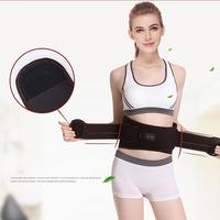 Electric Heating Waist Belt Massager Stomach Support Protection Vibration