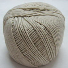 1.5mm / 2mm 2.5mm 3mm 4mm raw white cotton cord  rope line group strand wrapping tag lashing crab