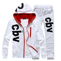 New autumn men  suit mens sweatshirt tracksuits sportswear free shipping 4 colors 4 size