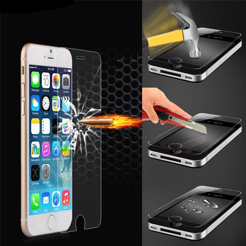 Pelicula De Vidro Tempered Glass Phone Screen Protector Protective Film for Iphon Ipone <font><b>Iphone</b></font> 5 6 <font><b>6s</b></font> 7 8 Plus X XR XS Max <font><b>Ecran</b></font> image
