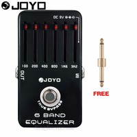 JOYO JF 11 6 Band Equalizer Electric Guitar Effect Pedal True Bypass JF 11