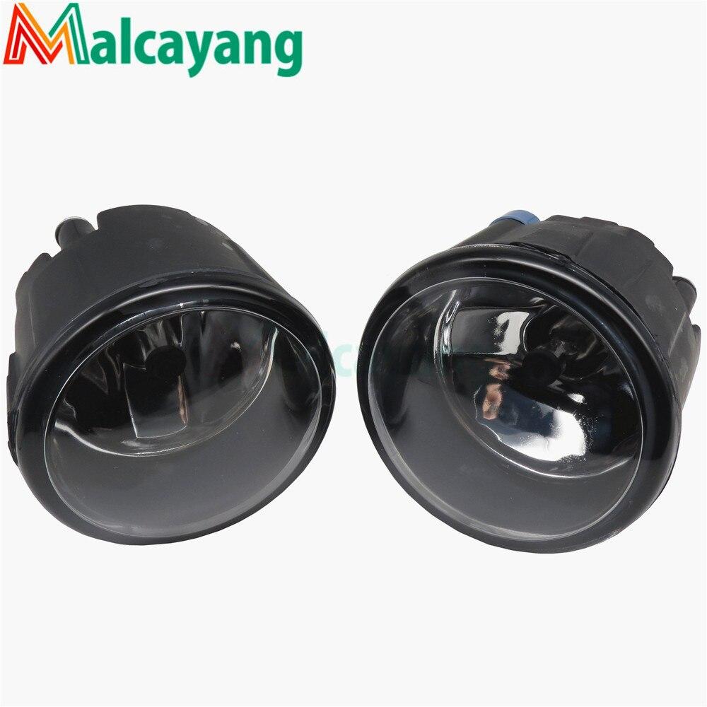 For NISSAN JUKE 2010-2015 Halogen Fog Lamps Fog Lights Car Styling Front Bumper Original 26150-8990B for nissan tiida saloon sc11x 2006 2012 car styling fog lights halogen lamps 1set 26150 8990b