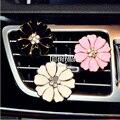 Creativa flores arcos gasa coche perfume ambientadores de aire al por mayor y al por menor