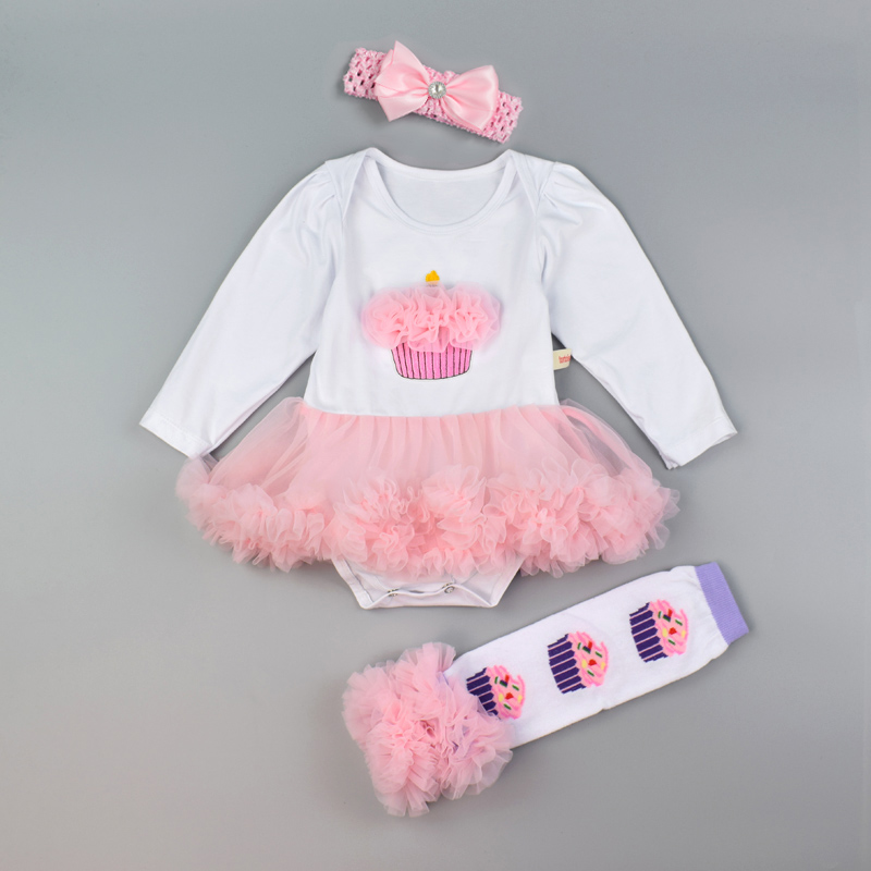 Newborn Bodysuit Sets Cartoon Mouse Leopard Pettiskirt Tutu Rompers Tulle Dress Lovely Clothes Set Baby Girl Dresses Infant Set baby girl 1st birthday outfits short sleeve infant clothing sets lace romper dress headband shoe toddler tutu set baby s clothes