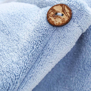 Image 5 - Xiaomi Mijia Women Bathroom Super Absorbent Quick drying Polyester with Cotton Bath Towel Hair Dry Cap Salon Towel 24x64cm
