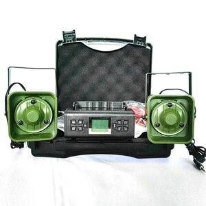 Image 4 - Dispositivo de sonido para trampa de llamador de pájaros, dispositivo electrónico para señuelos de caza, con 200 de voz integrada, 2x50W, 150dB, artículos de caza