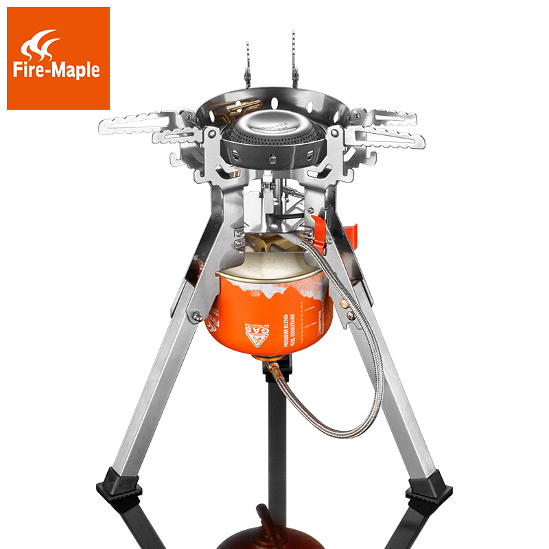 лучшая цена Fire Maple Titan Fms-108 Outdoor Camping Gas Stove for Team Family 4000W