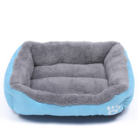 Cozy Soft Cute Pet Dog House Warm Cotton Pet Dog Beds For Cat Small Large Dogs